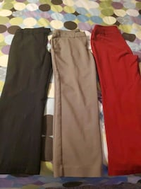 dress pants 10.00 for all 3 size 8 Martinsburg, 25405