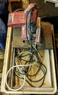 """MK 370 - 7"""" wet saw, works well! Hume, 22639"""