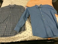 2 Button up large sleeve shirts Middle River, 21220
