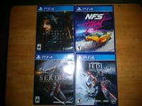 PS4 Games 45.00 each
