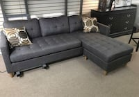 Brand new gray linen sectional sofa Silver Spring, 20902
