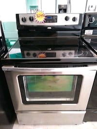 gray and black induction range oven 894 mi