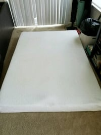 white and black bed mattress Virginia Beach, 23462