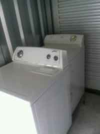white front-load clothes washer Charleston
