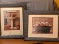 two white wooden photo frames Johnstown, 15904