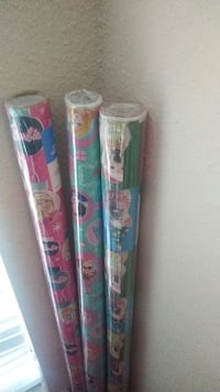 three assorted color paper rolls Texas City, 77591
