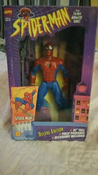 10 in Spiderman doll deluxe edition Des Moines, 50315