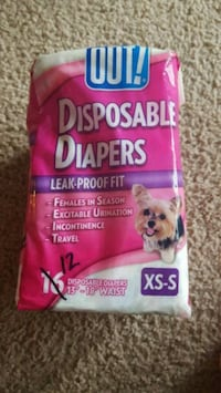 Out! Disposable Dog Diapers  Lancaster, 43130