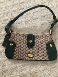 black and brown Coach monogram crossbody bag Richmond, V7C 2Y3