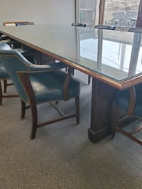 12x4 conference room table and chairs