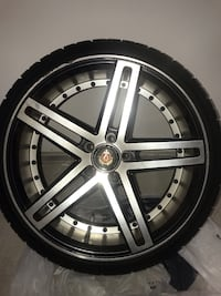Rims and tires was on a CLA 250 Mercedes Benz   Condition: Good Chesapeake, 23320