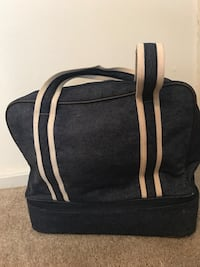 Overnight bag with separate bottom compartment for shoes or toiletries  Tuscaloosa, 35404
