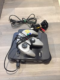N64 with controller and cables Toronto, M3M 2B6