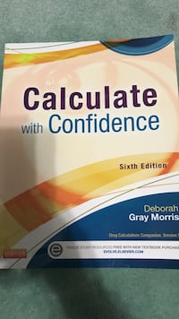 Calculate with confidence 6th edition book