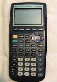 black Texas Instruments TI-83 Plus Arvada