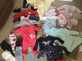 Baby girl clothes 0-6m