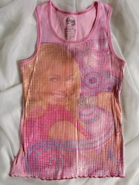 Hannah Montana Pink and white tank top Calgary, T2Y 5H4