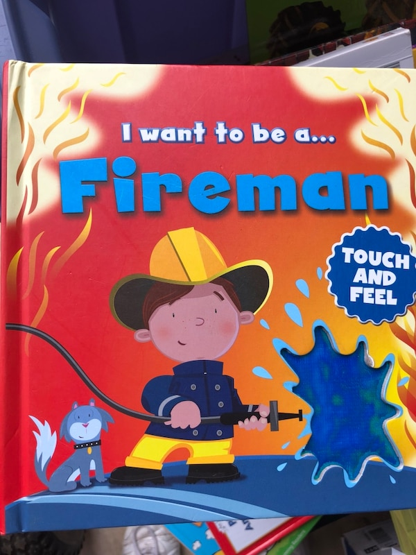 Touch and feel fireman's book