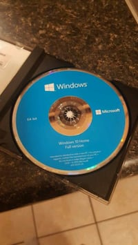 Windows 10 64 bit Home Edition