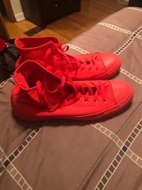 Scarlet red Chucks size 12. Cash only. Not interested in trades. Charleston