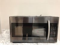 Black Stainless Over the Range Microwave  24 km