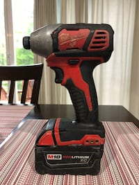 red and black Milwaukee cordless impact wrench Winchester, 22603