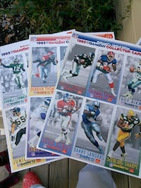 McD's uncut football cards Winchester, 22601