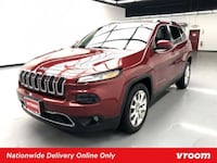 2014 Jeep Cherokee Deep Cherry Red Crystal Pearlcoat hatchback New York
