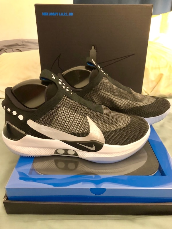lowest price f0f43 754ad Used IN HAND Nike Adapt BB Basketball Shoes Self Lacing for sale in New  York - letgo