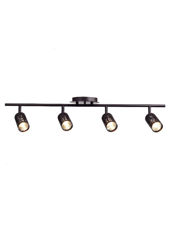 Claxy Eco Vintage Oil Rubbed Bronze Metal Track Lighting Ceiling Light Fixture