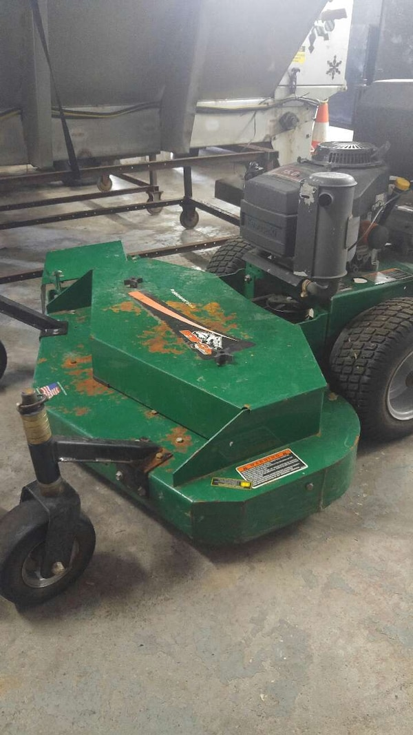 48 inch Bobcat walk behind mower with sulky