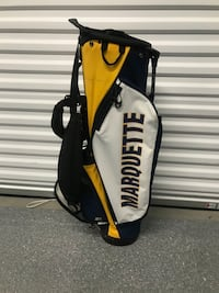 Marquette MU Golf Bag: Moving! Make an Offer!