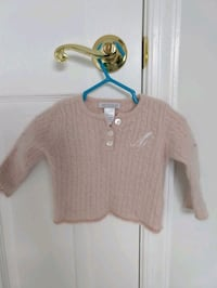 100% Cashmere Sweater size 6-12 months Germantown, 20876