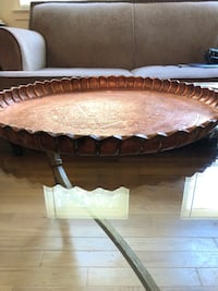 Bronze Antique Turkish Serving Tray (Immediate Move Out Sale) Falls Church, 22042