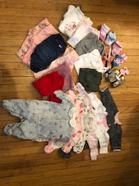 Lot of baby clothes 0-3 month