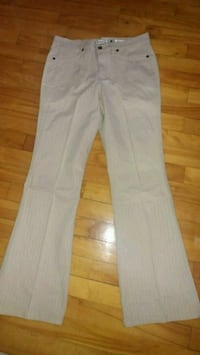 New beige jeans