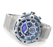 Invicta bolt chronograph 50mm stainless Steel band watch