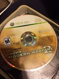 Xbox 360 Call of Duty Modern Warfare 2 game disc