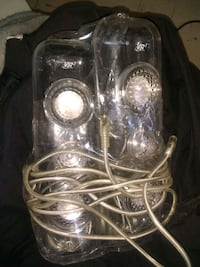 """VR3 Clear Twin 11"""" Speakers"""