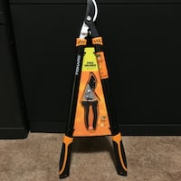 NEW Fiskars 1-1/2 in. Dia Cut Bypass Lopper with FREE 5.5 in. Pruner Springfield, 22151