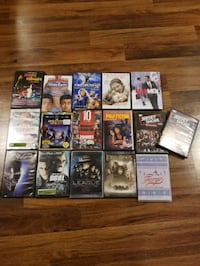 16 Assorted DVD Movies and TV Shows Edmonton, T5R 1X7
