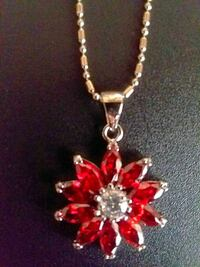 Red Crystal Necklace Ashland, 44805