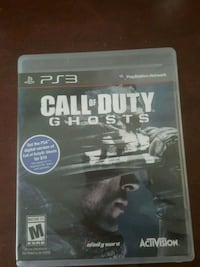 Cod ghost for ps3 Fort Worth, 76111