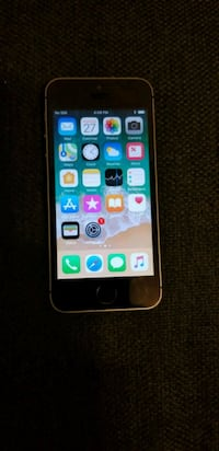 Iphone SE 64GB Silver Spring