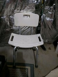white and gray high chair Beltsville, 20705