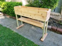 """48""""×12""""×12"""",36""""overall height with a shelf planter Webster, 77598"""