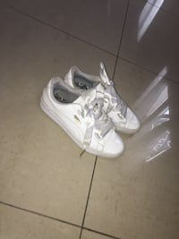 paire de chaussures basses Nike Air Force 1 blanches Reims, 51100