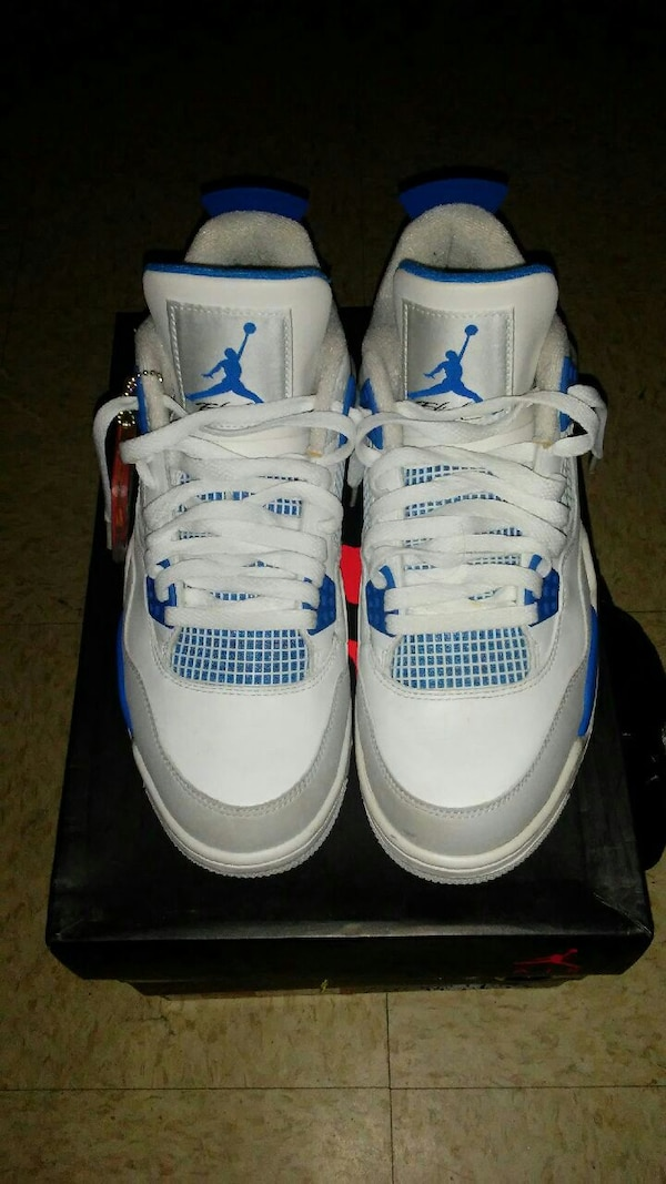 best loved 40814 c0df0 Military Blue 4s Size 8.5