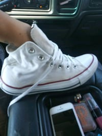 pair of white Converse All Star high-top sneakers Wichita, 67217