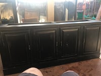 black wooden cabinet with mirror Bakersfield, 93311